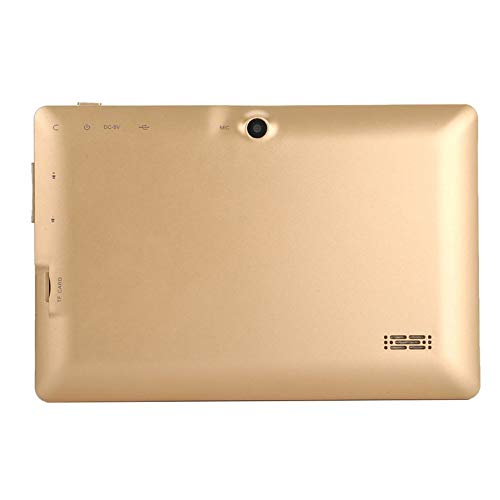 7-Zoll-Quad-Core-Tablet-Computer Q88h All-in-A33 für Android 4.4wifi Internet 512 MB 4 g / 8 g bequem - Golden Flat-panel-cpu-adapter
