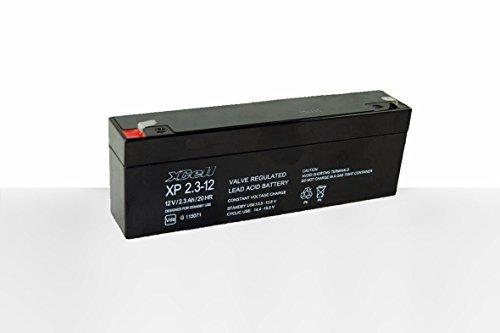 Blei-Akku 12 Volt 2,3 Ah (178x35x60mm) - 35 Ah Blei