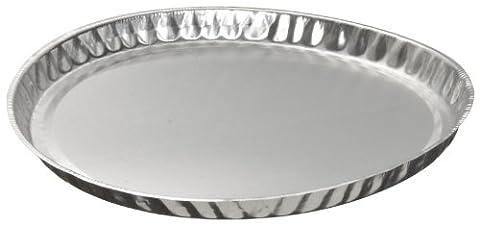 Heathrow Scientific HD14522 Weighing Dish, Aluminum, 101 mm Outside Diameter