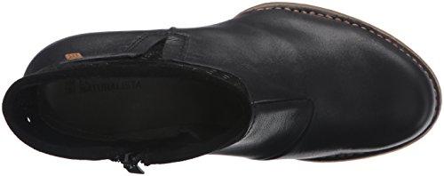 El Naturalista Damen N495 Ibon-Lux Suede Black / Colibri Schlupfstiefel Schwarz (BLACK N01)
