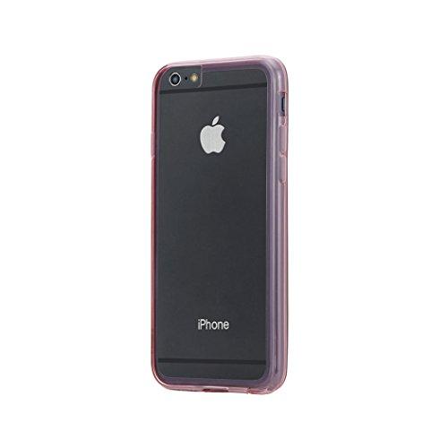 Aiino Jellies Coque Housse Etui Coque Protection pour Smartphone Apple iPhone Rot