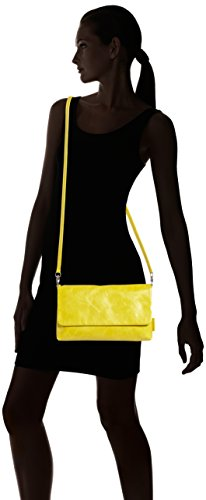 Jost Toronto Clutch, Sacoche femme Jaune - Yellow (Sulphur)