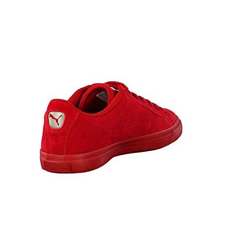 Puma sneaker Corte Stella Vulc scamosciata 363.222-02 ciliegia di Barbados Rosso
