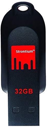 Strontium Pollex USB 2.0 32GB Pen Drive (Red & Black)