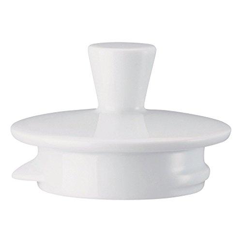 Arzberg - Deckel zu Teekanne 6 Personen - Form 1382 - Porzellan - weiß