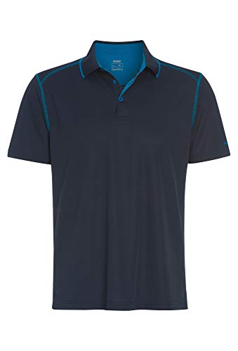 Sportives Outdoor Polo Shirt für Herren dunkelblau,XL