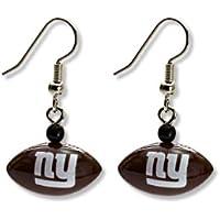 NFL Buffalo Rechnungen Mini Fußball Herz Dangler Ohrringe