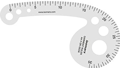 Isomars Garment Ruler - 35 cm