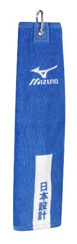 Mizuno Tri Fold Clip Towel Farbe: Blau 41 cm x 54 cm
