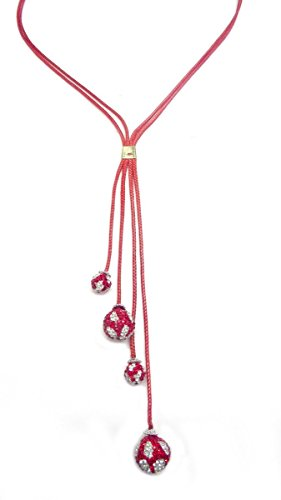 sempre-london-925-silver-plated-stella-designer-two-strand-pink-cord-with-pink-crystal-ball-necklace