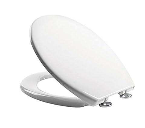 Tavistock Alpine Soft Close with Top Fix Fittings Gloss White Toilet Seat Cover - Model 0803SC