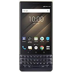 BlackBerry Key 2 Le, Smartphone, LTE, Android 8.1 (Oreo), Capacité: 256 GB, [Italia] Or