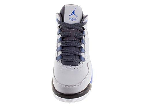 Nike Jordan Flight Origin 2 Bg, Chaussures de Sport Garçon Gris / blanc (gris loup / explosion - gris foncé - blanc)