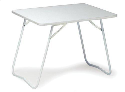 Campingtisch Ca 80x60x60cm Klappbarer Picknicktisch Balkontisch Farbe Weiss