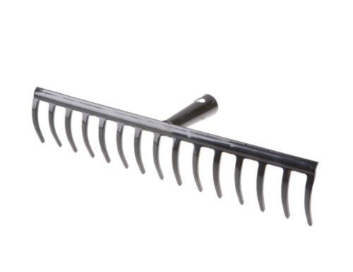 Freund 66146 Gartenrechen ohne Stiel 16 Zinken 40 cm Breite