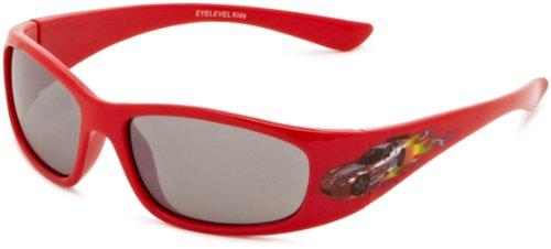 Eyelevel - Occhiali da Sole, bambino, rosso (Red), Taglia unica