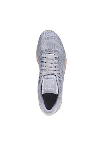 Reebok Classic Runner Jacquard TC Hommes Sneaker Gris V67887 Gris