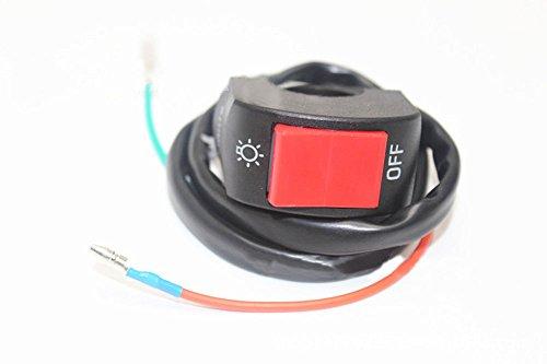 ViZe 7/8 '' 22mm Interruptores Faro Moto Lámpara del Interruptor de la...