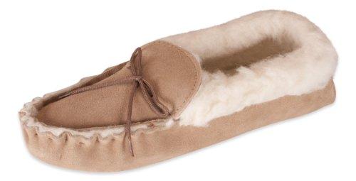 Nordvek, Pantofole donna Beige (Camel)