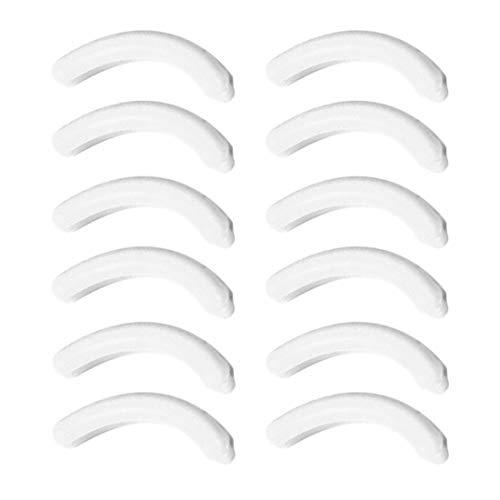 Wimpernzange Ersatzkissen Wimpernzange Ergänzungskissen Silikonkissen Streifen elastische...