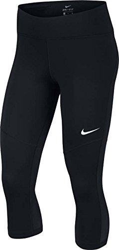 Nike Damen Fly Victory Crop 3/4 Tight, Black/White, M