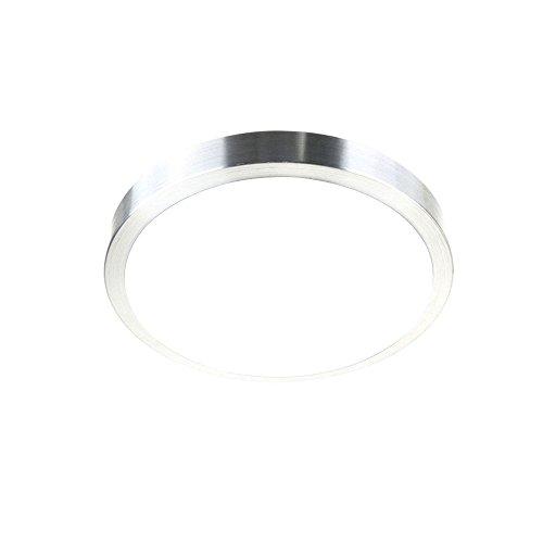 SAILUN 15W LED Ronde Blanc Chaud Plafonnier Lampe Moderne Lampe de Plafond pour salon, Cuisine, chambre à coucher, Salle de bain, Hôtel (Blanc Chaud)