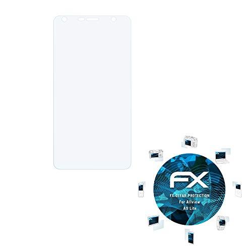 atFolix Schutzfolie kompatibel mit Allview A9 Lite Folie, ultraklare FX Displayschutzfolie (3X)