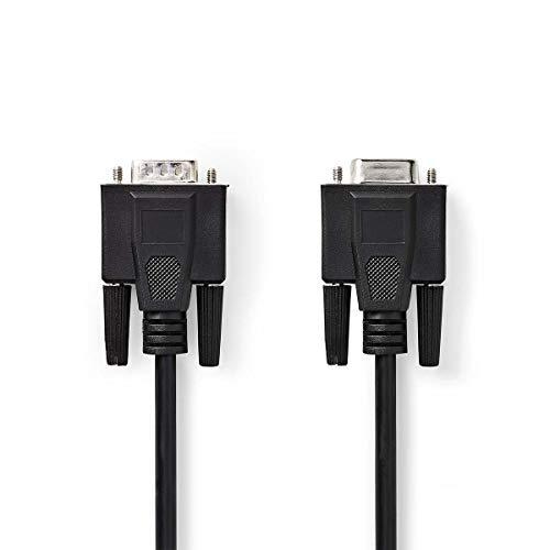 Nedis CCGP59100BK30 VGA-Kabel | VGA-Stecker - VGA-Buchse | 3,0 m | Schwarz