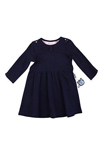 Sigikid Mädchen Kleid, Mini, Blau (Peacoat 260), 122