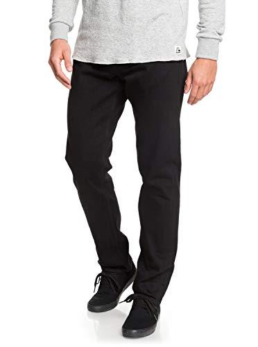 Quiksilver Revolver Black Black - Straight Fit Jeans - Männer (Quiksilver Revolver)