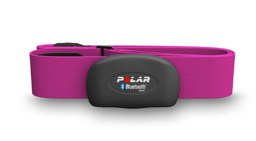 Polar H7 Bluetooth Heart Rate Sensor Fitness Tracker Pink Medium/XX-Large