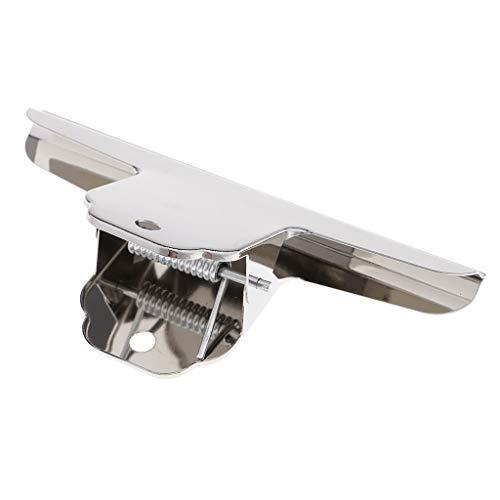 Baoblaze 1pcs Big Size Metall Bulldogge Clips Scharnier Clip Clamp Bürobedarf - 12 cm