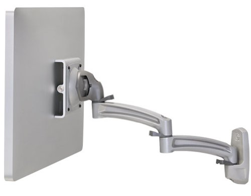 Chief k2 W120s Kontour K2 W Wall Mount Swing Arm, Single Monitor, 25,4 cm - 76,2 cm Bildschirm Größe, silber
