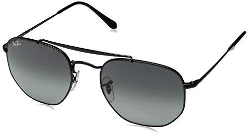 RAYBAN JUNIOR Unisex-Erwachsene Sonnenbrille Marshal Black/Graygreen 54