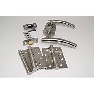 ArcWare Architectural Limited Arched Door Handle Pack (Internal Latch Set) -HINGES, FOR 45MM FIRE DOORS