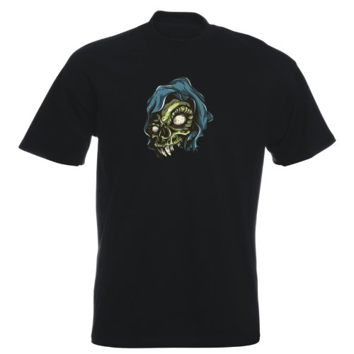 T-Shirt - Buddy Skull 27 - Totenkopf - Herren Schwarz