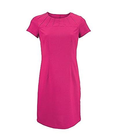 Alexandra Stc-nf33r7–06satiné Bordure Robe, UNI, 100% polyester, taille: 6, Rose vif