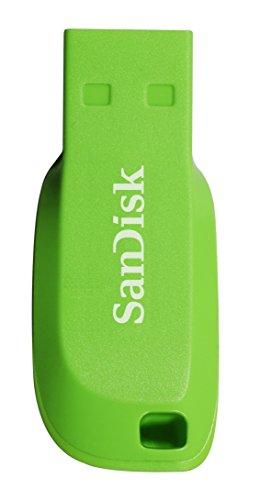 SanDisk SDCZ50C-016G-B35GE Cruzer Blade USB 16GB electric grün -