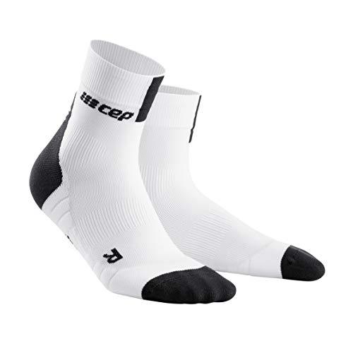 0 für Damen | Sportsocken für mehr Power und Ausdauer in weiß/grau in Größe II ()