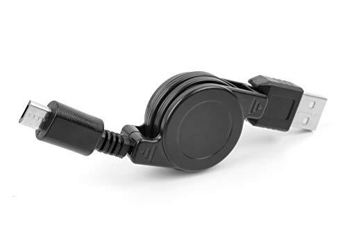DURAGADGET Cable MicroUSB Retráctil Tablet Huawei