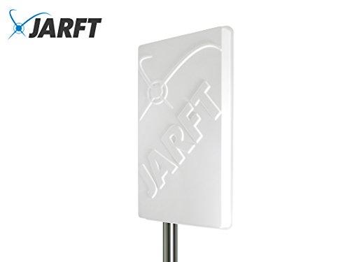 Twin 17 (JARFT J1800-17-DOMPA | Leistungsstarke 1800 MHz LTE / 4G Antenne, 17dBi Leistungsgewinn, Wetterfest, inklusive 10m TWIN-Kabel - Richtantenne passend zu Speedport LTE / LTE II / Hybrid, Speedbox LTE / LTE II / LTE III, FritzBox LTE- Router, Huawei B390 / B593 / B890 / E5186, D-Link DWR-921, Teltonika RUT550 / RUT950)