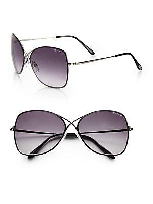 Tom Ford Sonnenbrille FT0250 135_08C (63 mm) grau