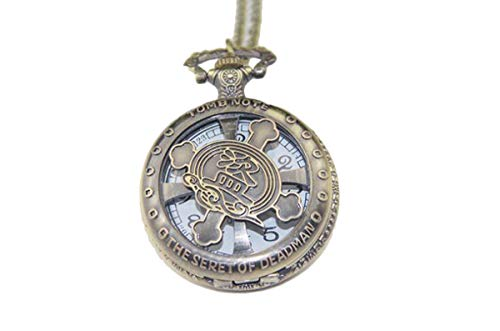 Vintage mit Chinesen Raiders Time Locket Halskette mit Anhänger mit Schmuckkästchen Time Raiders für Mädchen, Mädchen (Coppery) ()