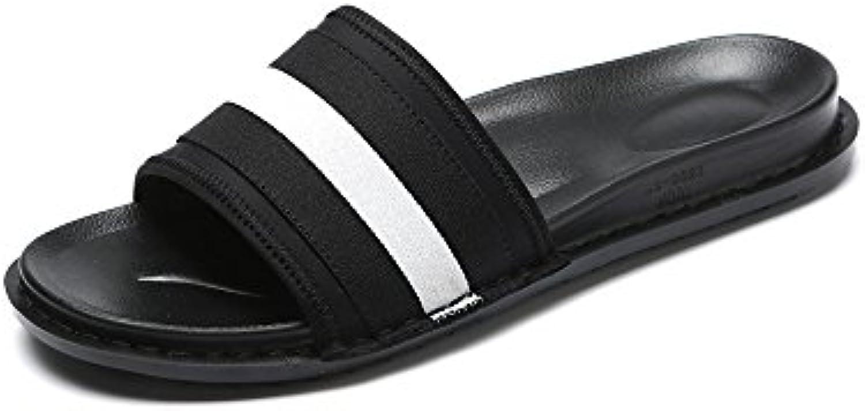 les pantoufles chaussures de plage antidérapantes, yqq antidérapantes, plage chaussures chaussures sandales souliers mode vacances l'été co nfortable respirable...b07fgdng62 parent 97ca0b