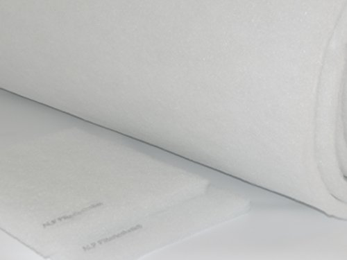 Filtermatte G3 ca. 10m x 1m - Dicke ca. 12-18mm Vorfilter Luftfilter für allg. Klima-/Lüftungszwecke Lüftungssysteme Ersatzfiltervlies Zubehör Absauganlagen Filteranlage zum selbst schneiden -