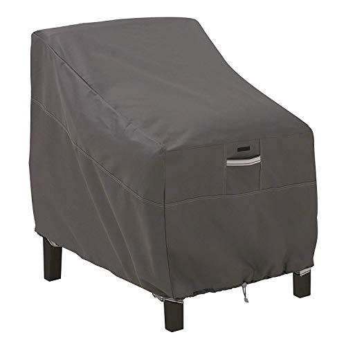 GRAFTS Classic Accessories Abdeckung für Tiefe Sitzgelegenheiten, für Terrassenmöbel - Deep Seat Lounge Chair (Round Table Cover Elastisch)