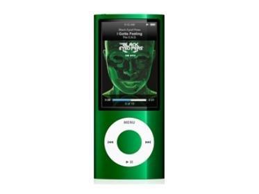 16GB Grün-MP3/MP4Player (grün, LCD, Lithium-Ionen (Li-Ion), 240x 376Pixel, AAC, AAX, AAX +, AIFF, he-AAC, MP3, WAV, 8-320Kbit/s) ()