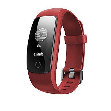 Lemumu ID 107 Upgrade edition Smart Sport Armband Fitness Tracker Pulsmesser GPS Tracker Smart Band Armbanduhr Armband, Blau