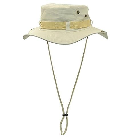 WinCret De plein air Boonie Hat Chapeau de Brousse pour Hommes et Femmes - Bush Hat Protection Solaire avec Multi-couleurs Facultatif