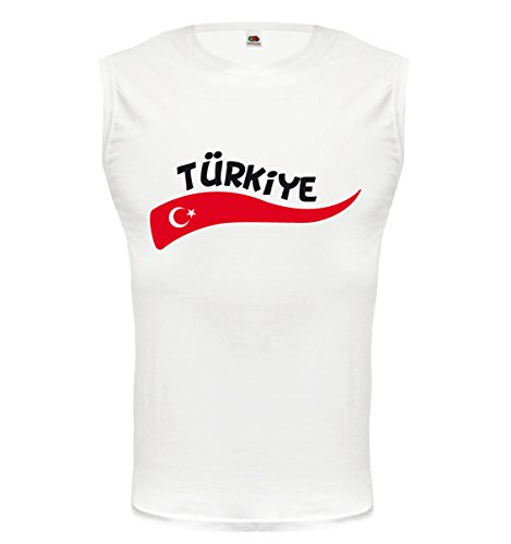 buXsbaum® Tank Top Türkei-Wave White-z-direct